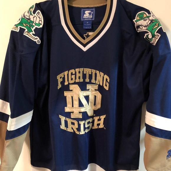 low priced 94c32 c32be Notre Dame Fighting Irish Hockey Jersey NCAA M
